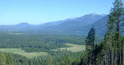 Northwest Montana creek front land for sale